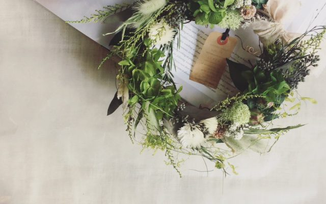 9月の草花のワークショップ